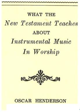 What the New Testament Says About Instrumental Music